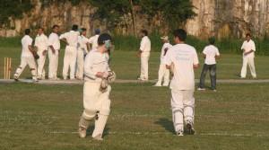 Change of batsmen