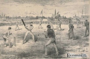 Montreal Cricket Club v Australia, October 1878