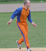 Tim Fawcett - gained experience on jute wickets in Holland