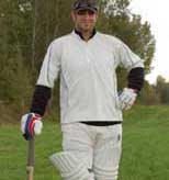 Thiéry Milot - dreams of cricket on a nightly basis