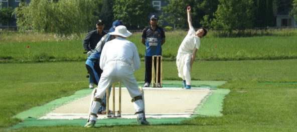 Robbie in the wickets